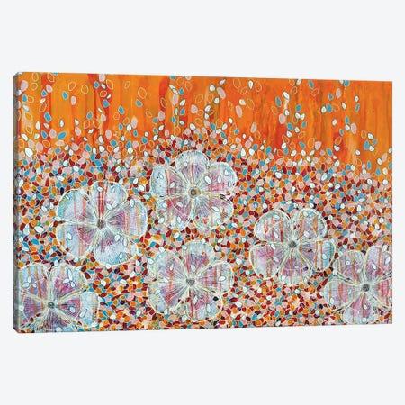 Flowers Among The Petals Canvas Print #CZS16} by Carol Zsolt Art Print