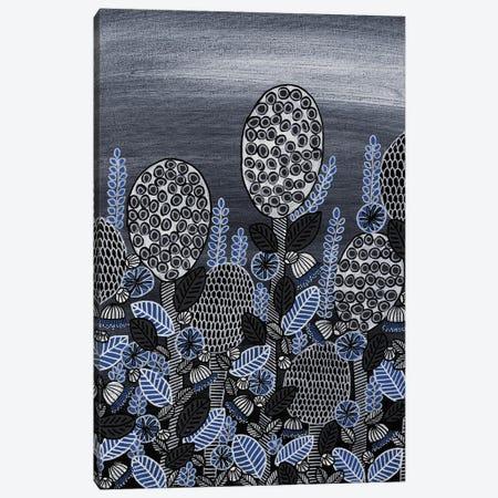 Bulbs & Blooms Blue Canvas Print #CZS23} by Carol Zsolt Art Print