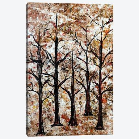 Trees in bush Canvas Print #CZS25} by Carol Zsolt Canvas Wall Art