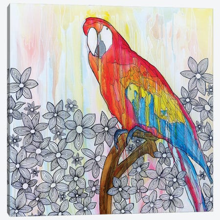Abstract Bird Canvas Print #CZS28} by Carol Zsolt Canvas Art Print