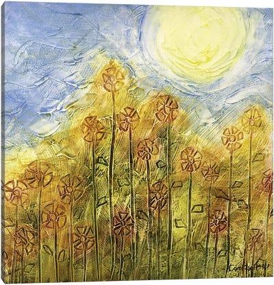 Summer Blooms Canvas Art Print