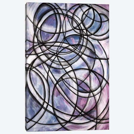 Abstract Spinning Canvas Print #CZS36} by Carol Zsolt Canvas Print