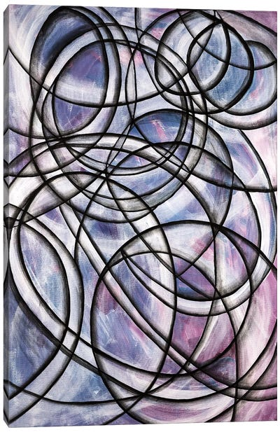 Abstract Spinning Canvas Art Print