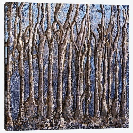 Nude Trees Canvas Print #CZS3} by Carol Zsolt Art Print
