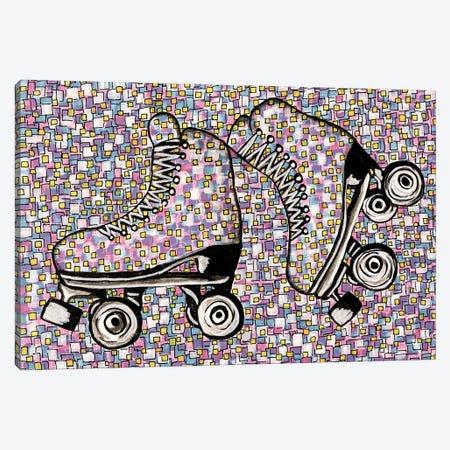 I've Got A Brand New Pair Of Roller Skates Canvas Print #CZS42} by Carol Zsolt Canvas Print