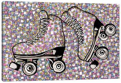 I've Got A Brand New Pair Of Roller Skates Canvas Art Print