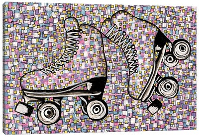 I've Got A Brand New Pair Of Roller Skates Canvas Art Print