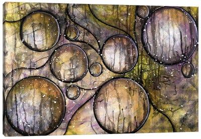 Abstract Circles Canvas Art Print