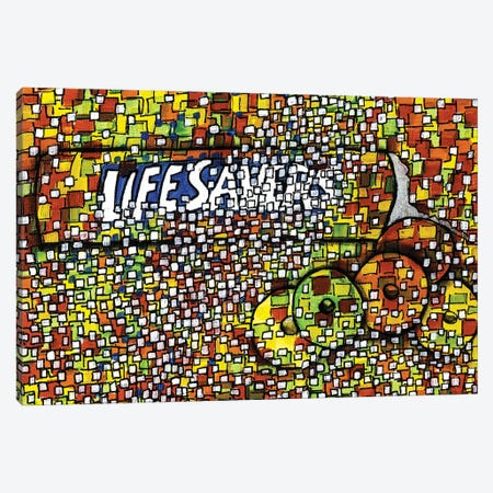 Lifesavers Canvas Print #CZS45} by Carol Zsolt Canvas Artwork