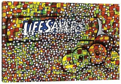 Lifesavers Canvas Art Print