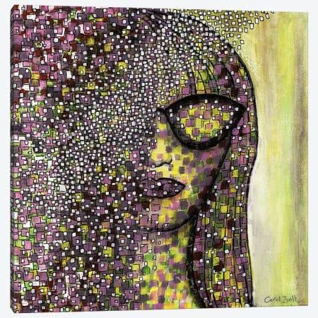 Pretty Woman Canvas Print #CZS47} by Carol Zsolt Canvas Artwork