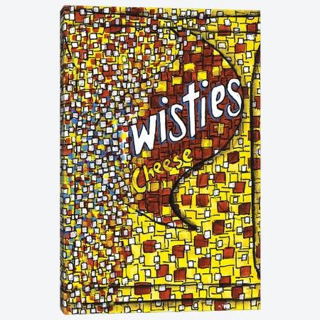 Cheese Twisties Canvas Print #CZS54} by Carol Zsolt Art Print