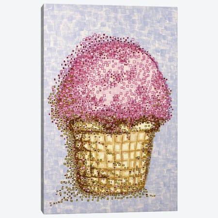 Ice Cream Canvas Print #CZS58} by Carol Zsolt Canvas Art
