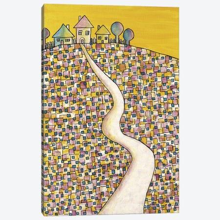 Houses On The Hill Canvas Print #CZS5} by Carol Zsolt Canvas Wall Art