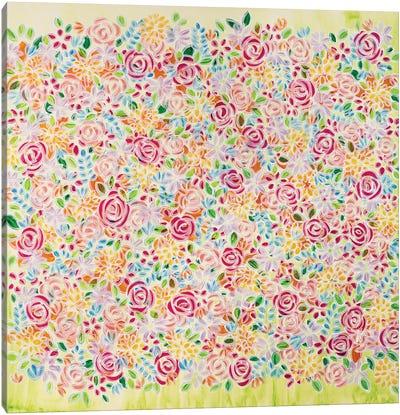 Bring Me Flowers Canvas Art Print