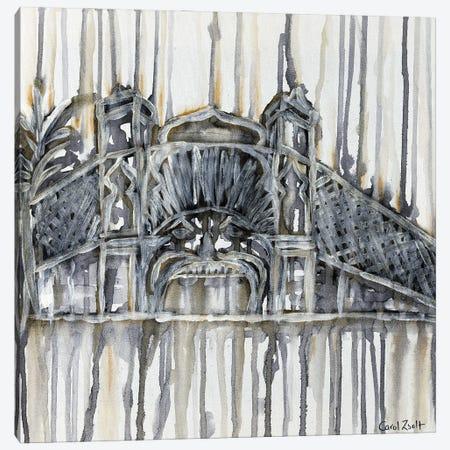 Luna Park Melbourne With Grey Canvas Print #CZS77} by Carol Zsolt Canvas Print