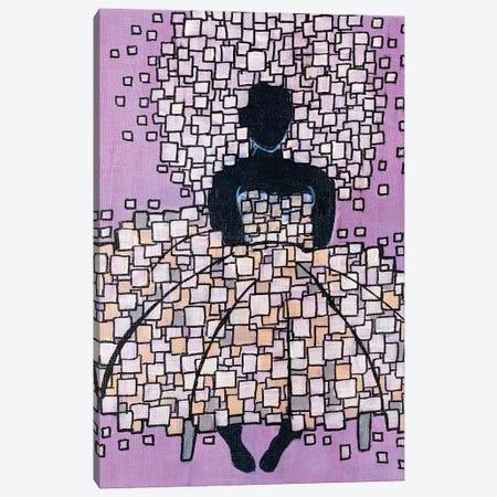 Big Hair Purple Canvas Print #CZS88} by Carol Zsolt Canvas Art Print