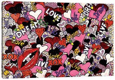 Lots Of Love Canvas Art Print