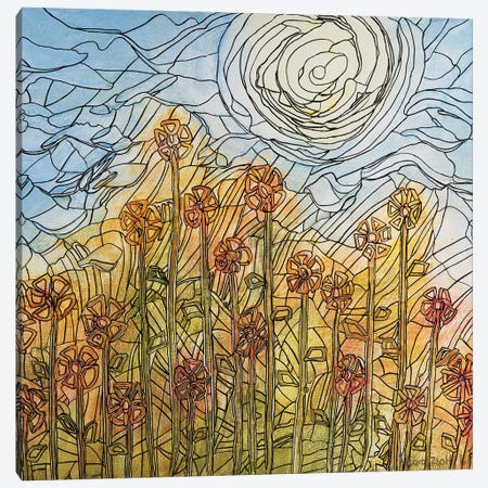 Summer View Canvas Print #CZS99} by Carol Zsolt Canvas Art