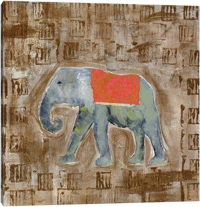 Global Elephant I Canvas Art Print