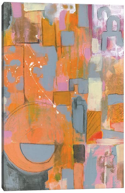 Pretty in Pinks II Canvas Art Print