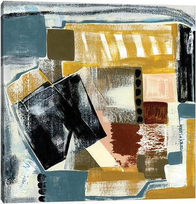 Modern Geo Abstract V Canvas Art Print
