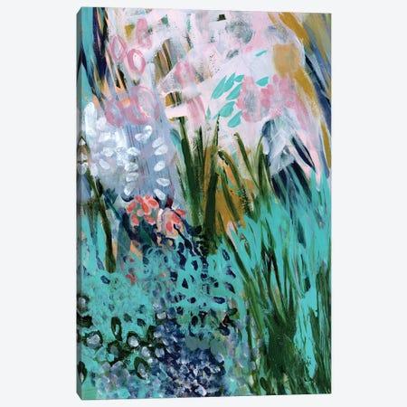 Opulent Floral Strokes I Canvas Print #DAA25} by Tara Daavettila Canvas Art