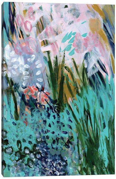 Opulent Floral Strokes I Canvas Art Print