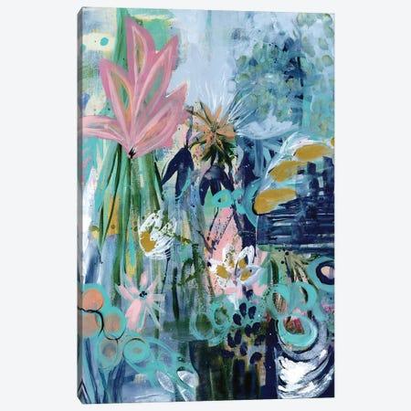 Opulent Floral Strokes II Canvas Print #DAA26} by Tara Daavettila Canvas Artwork