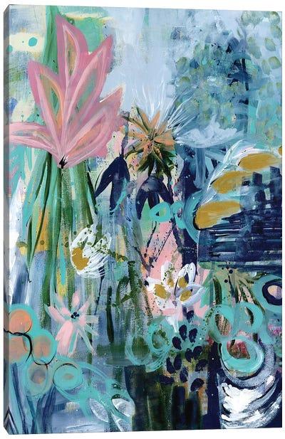 Opulent Floral Strokes II Canvas Art Print