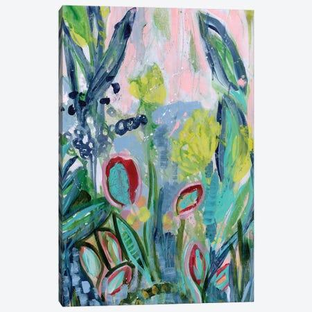 Opulent Floral Strokes III Canvas Print #DAA27} by Tara Daavettila Canvas Art
