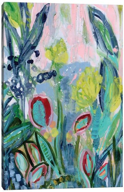 Opulent Floral Strokes III Canvas Art Print