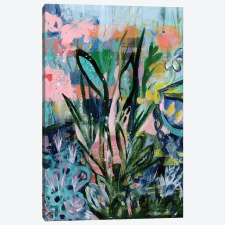 Opulent Floral Strokes IV Canvas Print #DAA28} by Tara Daavettila Art Print