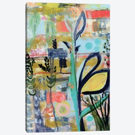 Opulent Floral Strokes V Canvas Print #DAA29} by Tara Daavettila Art Print