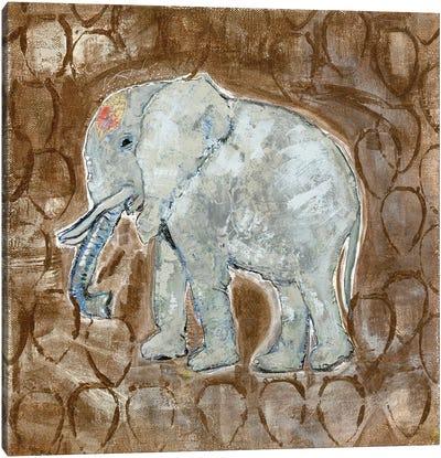 Global Elephant II Canvas Art Print