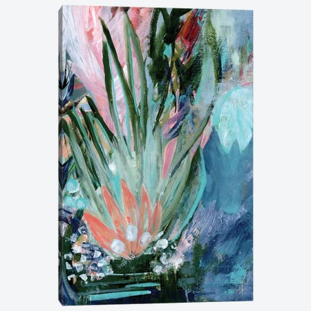 Opulent Floral Strokes VI Canvas Print #DAA30} by Tara Daavettila Canvas Artwork