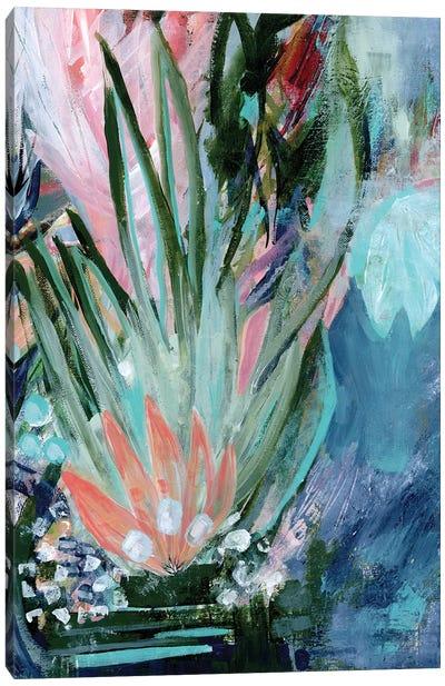 Opulent Floral Strokes VI Canvas Art Print