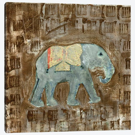 Global Elephant III Canvas Print #DAA3} by Tara Daavettila Canvas Art