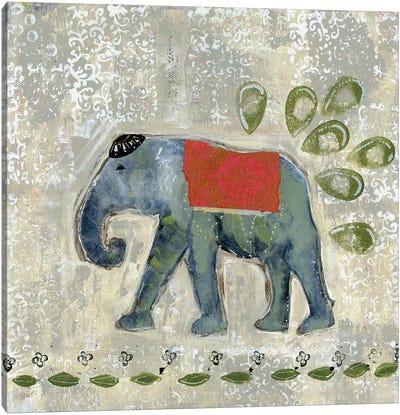Global Elephant IV Canvas Art Print