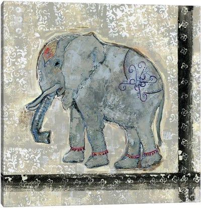 Global Elephant V Canvas Art Print