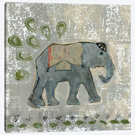 Global Elephant VI Canvas Print #DAA6} by Tara Daavettila Canvas Print