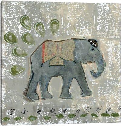 Global Elephant VI Canvas Art Print
