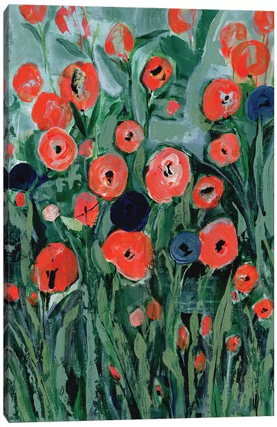 All That Jazz Garden II Canvas Art Print