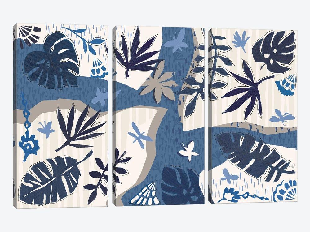 Desert Flair II by Daphne Brissonnet 3-piece Canvas Print