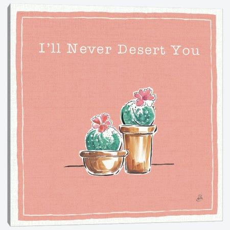 Desert Bloom XI You Canvas Print #DAB19} by Daphne Brissonnet Art Print