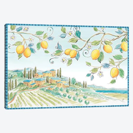 Mediterranean Breeze I Canvas Print #DAB1} by Daphne Brissonnet Canvas Print