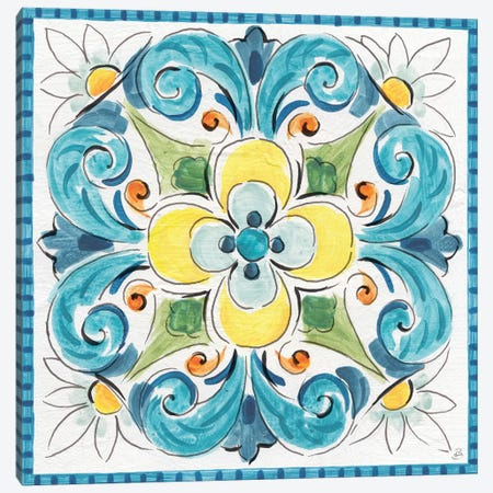Mediterranean Breeze XVIII Canvas Print #DAB23} by Daphne Brissonnet Canvas Artwork