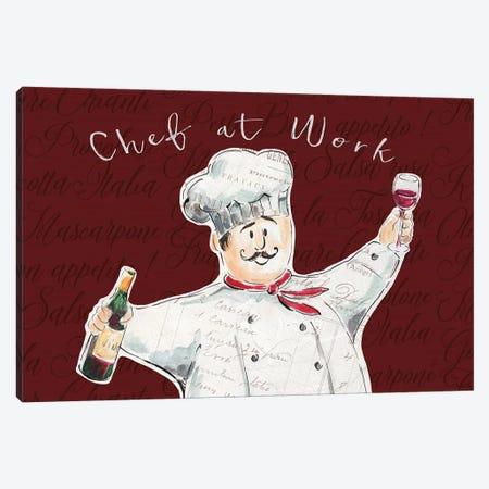 Chef at Work II Canvas Print #DAB44} by Daphne Brissonnet Art Print