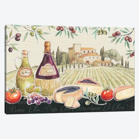Tuscan Flavor I Canvas Print #DAB5} by Daphne Brissonnet Canvas Art