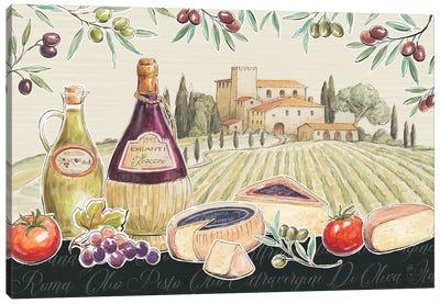 Tuscan Flavor I Canvas Art Print
